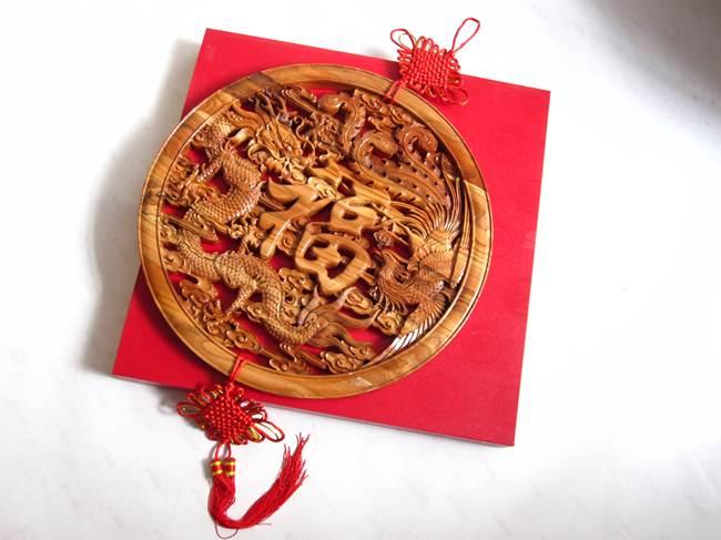 食品雕刻龙凤高清图片
