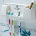 精致吸盘式牙刷架 刷具架套装 洗漱架