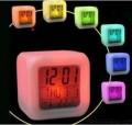 多色变幻闹钟LED小夜钟