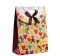 礼品包装袋 爱心熊手提礼品袋 中号