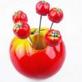 西红柿水果叉