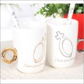 戒指情侣咖啡杯
