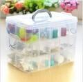 三层可拆手提30格多功能收纳盒定做 塑料盒定制