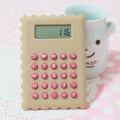迷你袖珍计算器 超可爱的饼干计算器定做