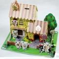 喜羊羊小屋3D拼图储钱罐
