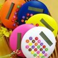 可爱圆形彩色糖果汉堡计算器定制