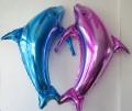 婚庆气球 海豚造型铝膜气球