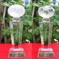 水晶足球篮球赛事奖杯奖牌定做