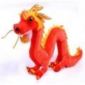2012年新年礼品,中国龙,龙公仔,毛绒玩具定制