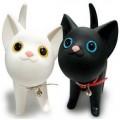 Kat凯特猫钱罐钱箱零钱罐定做黑色/白色
