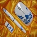 青花瓷笔无线鼠标U盘套装定制 企业礼品 商务创意礼品