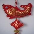 大鱼中国结挂件定制 年年有余 过年礼品