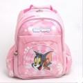 粉红色猫和老鼠书包