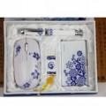 青花瓷无线鼠标套装定制 商务礼品