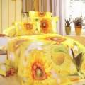 太阳花贵族珍品床上四件套定制