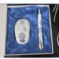 青花瓷鼠标笔两件套装