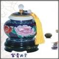 景泰蓝富贵满堂茶叶罐