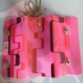 环保PVC钥匙包/软胶广告钥匙包