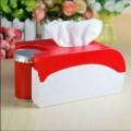 时尚多功能纸巾筒 纸巾筒牙签筒二合一定制