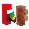 四层分格笔筒,办公塑料|PP笔筒定制