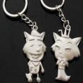 灰太狼红太郎钥匙扣定制,时尚广告钥匙扣定做