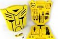 黄色变形金刚五金工具礼品套装定制