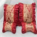 丝绸车枕四件套
