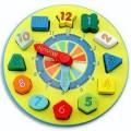 儿童积木玩具钟