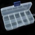 插片可拆装10格透明塑料盒,广告收纳药盒定制