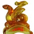如意送福琉璃摆件,蛇年礼品