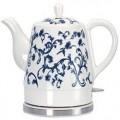 兰花陶瓷电水壶