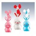 害羞兔子USB广告风扇