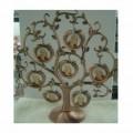 金属苹果家庭树相框 生日礼品