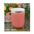 毛线色釉杯 广告杯
