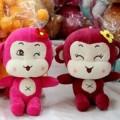 猴年吉祥生肖猴公仔 猴子毛绒玩具