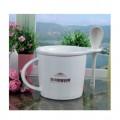 早餐杯 带勺子陶瓷咖啡杯