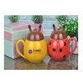 甲壳虫创意陶瓷杯