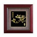 广州特色南国金棉金箔画