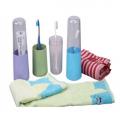 创意洗漱旅行折叠牙刷盒套装