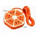 水果智能USB立体插座