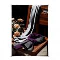 紫荆秀蚕丝围巾