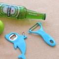 海豚开瓶器削皮刀套装