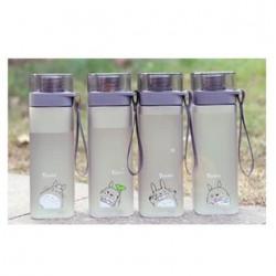 磨砂盖健康运动塑料水杯