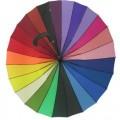 彩虹天堂伞