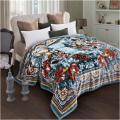 富安娜圣之花拉舍尔毛毯