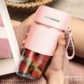 韩国现代便携果汁杯/网红便携果汁杯