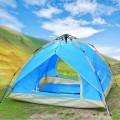 纵贯线双人双层自动帐篷/户外帐篷定制