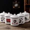 复古防搪瓷杯/网红陶瓷杯