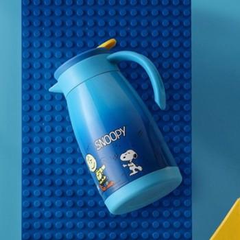 史努比玩趣不锈钢便携咖啡壶
