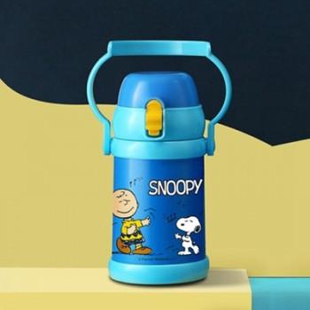 SNOOPY史努比不锈钢儿童保温壶